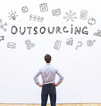 Comment se structure le secteur de l'outsourcing ?