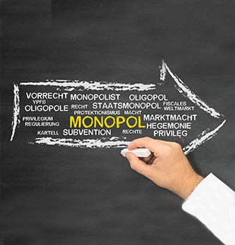 Qu'est-ce qui distingue un monopole d'un oligopole ?