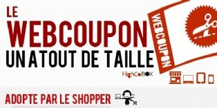 Le webcoupon adopté par le shopper