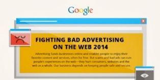 Google bloque plus de 524 millions de publicités en 2014