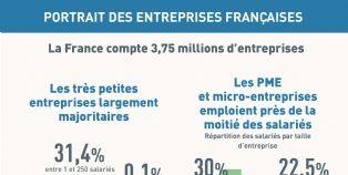 Portrait robot des entreprises fran�aises