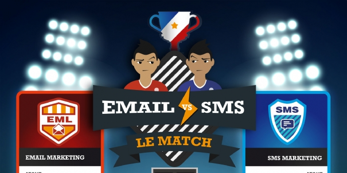 E-mail vs SMS marketing : le match