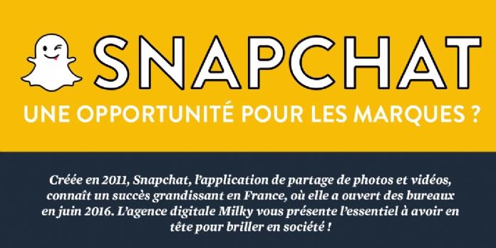 Snapchat : une opportunité pour les marques ?