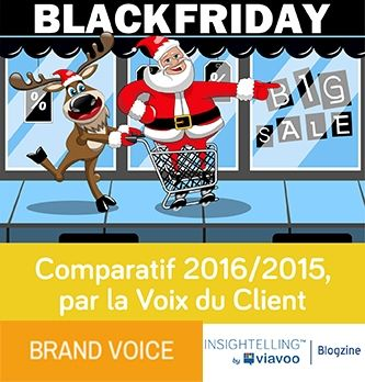 Black Friday : comparatif 2016/2015 - étude réalisée par viavoo
