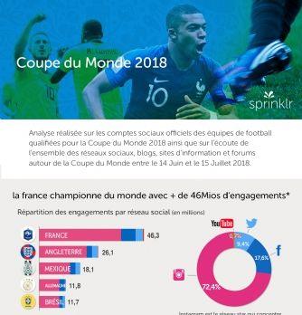 Coupe du Monde: le bilan digital