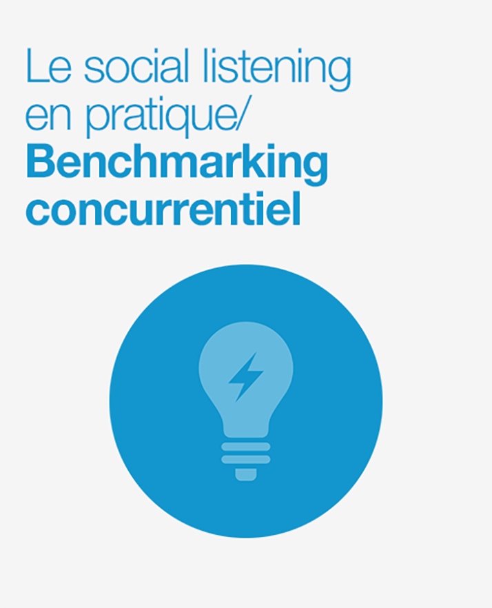 Couverture Benchmarking concurrentiel : Comment développer votre intelligence concurentielle avec la social data