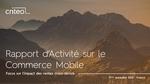 Couverture livre blanc Rapport d'activité sur le commerce mobile au 2nd semestre 2016