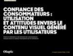 Couverture Étude de l'utilisation et des attitudes des consommateurs français envers le contenu visuel généré par les utilisateurs.