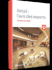Couverture Ebook Retail : L'avis des Experts - Tendances 2018