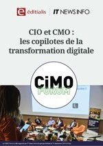 Couverture CIO et CMO : les copilotes de la transformation digitale