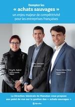 """Couverture livre blanc Dompter """"les achats sauvages"""" un enjeu majeur de compétitivité pour les entreprises françaises"""