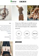Couverture livre blanc [Étude de cas] Comment IKKS utilise iAdvize pour booster la croissance de son site E-commerce ?