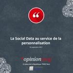 Couverture [Résultats d'étude] La Social Data au service de la personnalisation