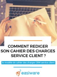 Couverture Le Cahier des Charges du Service Client
