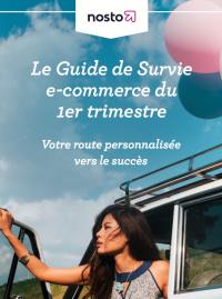 Couverture livre blanc Le Guide de survie E-commerce du 1er trimestre