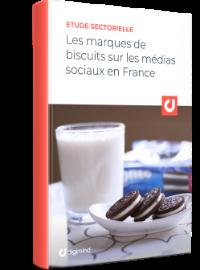Couverture Food : Les marques de biscuits sur les médias sociaux en France