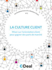 Couverture livre blanc #1 : La culture client ou comment gagner en rentabilité ?