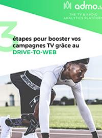 Couverture livre blanc 3 étapes pour booster vos campagnes TV grâce au Drive-to-Web
