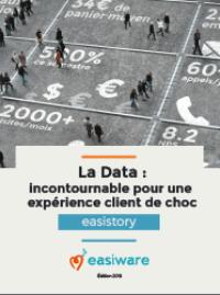 Couverture livre blanc La Data : incontournable pour une expérience client de choc