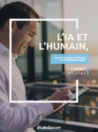 Couverture livre blanc Carnet d'expérience : l'IA et l'humain, duo gagnant au service de l'expérience client