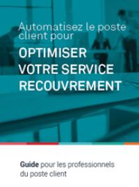 Couverture livre blanc Guide pratique : Automatisez le poste client pour optimiser votre service recouvrement