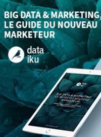Couverture livre blanc Big Data & Marketing : le guide du nouveau marketeur