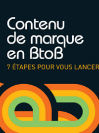Couverture Contenu de marque en B2B
