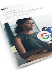 Couverture livre blanc Le futur du SEO: le Digital Knowledge Management