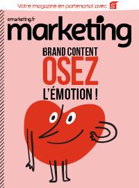 Couverture livre blanc Brand Content, osez l'émotion !