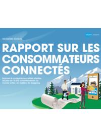 Couverture Rapport sur les consommateurs connectés