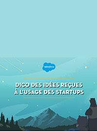 Couverture livre blanc 7 idées reçues à l'usage des startups
