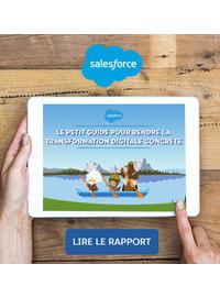 Couverture Le petit guide pour rendre la transformation digitale concrète