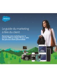 Couverture Le guide du marketing à l'ère du client