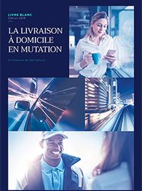 Couverture LA LIVRAISON À DOMICILE EN MUTATION