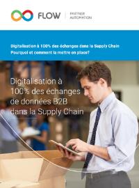 Couverture livre blanc Digitalisation à 100% des Échanges de Données dans la Supply Chain