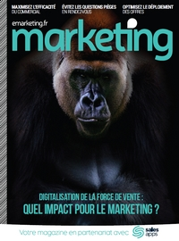 Couverture [Hors-série Marketing] Digitalisation de la force de vente : quel impact pour le marketing ?