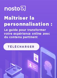 Couverture livre blanc Maîtriser la personnalisation : Le guide pour transformer votre expérience online avec du contenu pertinent
