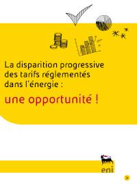 Couverture La disparition progressive des tarifs réglementés dans l'énergie : une opportunité !