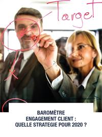 Couverture livre blanc Engagement Client : Quelle stratégie pour 2020 ?