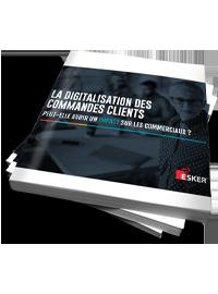 Couverture livre blanc La digitalisation des commandes clients peut-elle avoir un impact sur les commerciaux ?