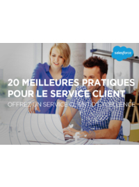 Couverture livre blanc 20 meilleures pratiques pour le service client