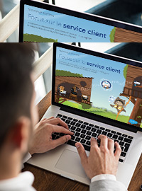 Couverture Focus sur le service client