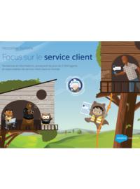Couverture Tendances et informations, provenant de plus de 3 500 agents et responsables de service client dans le monde