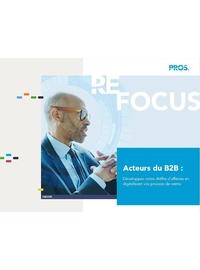 Couverture Acteurs du B2B : Digitalisez vos process de vente pour accroître votre CA