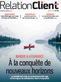 Couverture Version numérique du Magazine Relationclient mag