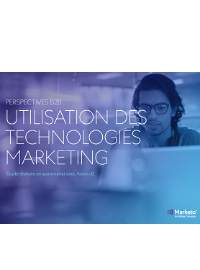 Couverture PERSPECTIVES B2B : UTILISATION DES TECHNOLOGIES MARKETING