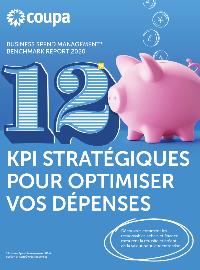 Couverture livre blanc 12 KPI stratégiques pour optimiser vos dépenses