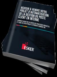 Couverture livre blanc Réussir à vendre votre projet d'automatisation de la gestion du poste client en interne