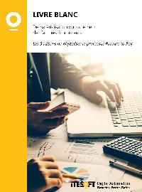 Couverture livre blanc Dématérialisation du traitement des factures fournisseurs : Les 5 raisons de digitaliser le processus Procure to Pay