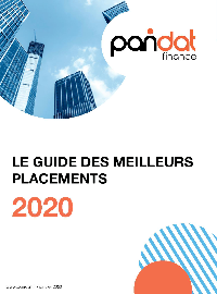 Couverture Le guide des meilleurs placements 2020